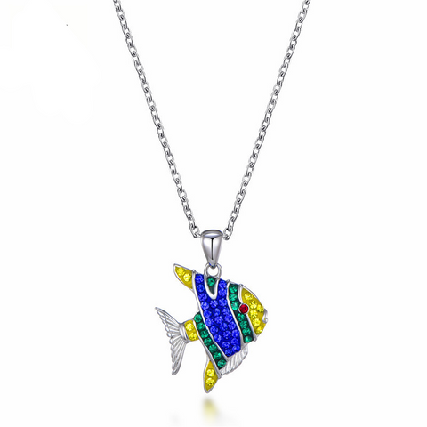Tropical Fish Necklace - OceanHelper