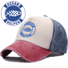 "Ocean Helper ""Worn Look"" Baseball Cap"
