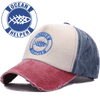 "Image of Ocean Helper ""Worn Look"" Baseball Cap"