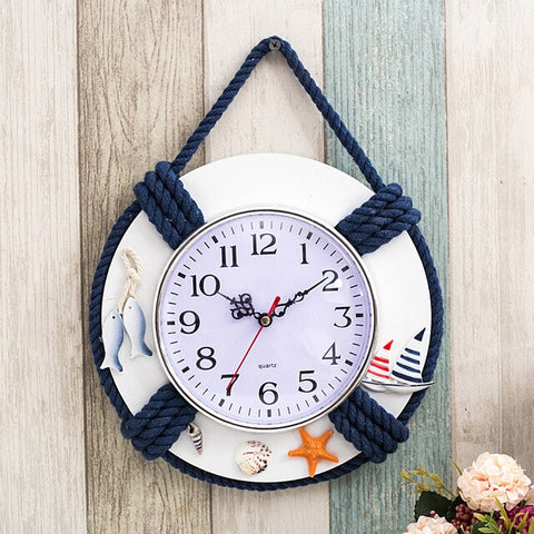 Life Saver Nautical Clock