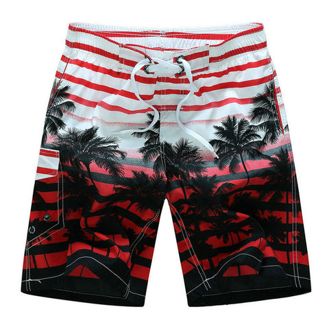 Men's Hawaiian Print Shorts - OceanHelper