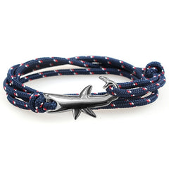 Shark Rope Bracelet - OceanHelper