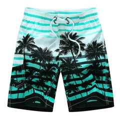 Men's Hawaiian Swim Shorts - OceanHelper