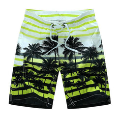 Men's Hawaiian Print Shorts