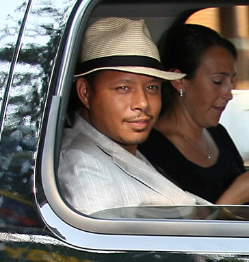 terrence howard Panama hat