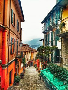 In the streets of Bellagio - North Italy