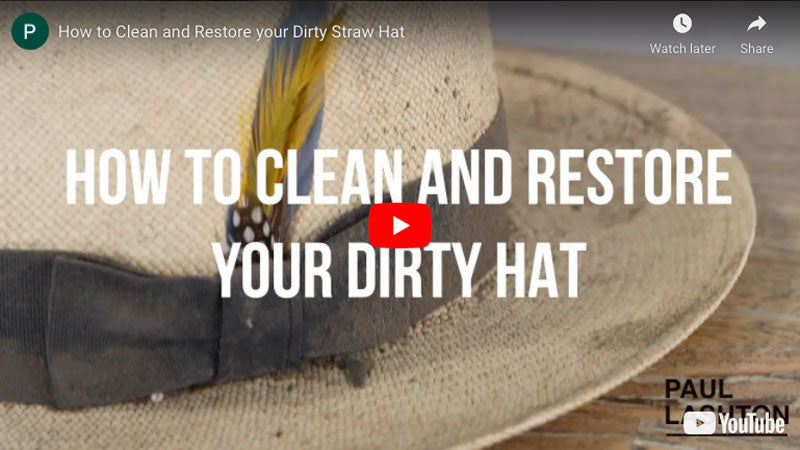 Hat Cleaner Video