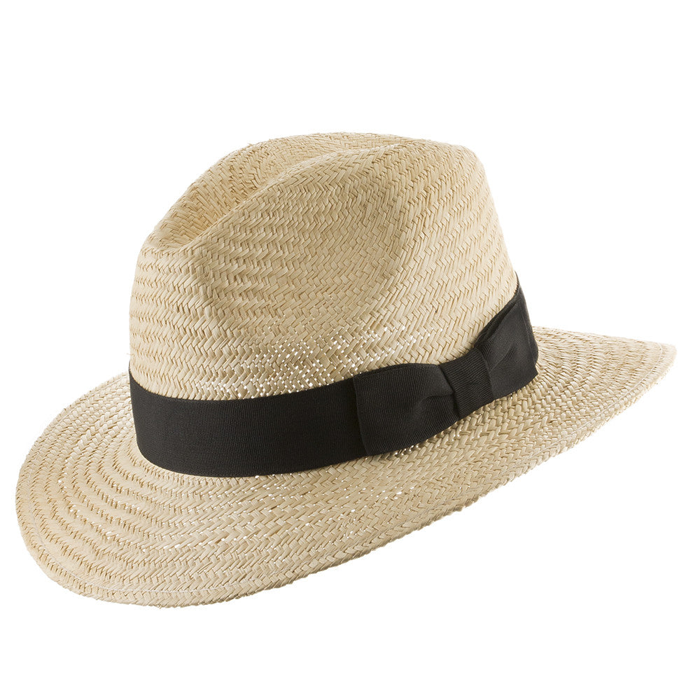 Safari Jack Outdoors Straw Hat - Ultrafino Panama Hat