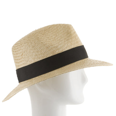 Natural with Black Hatband