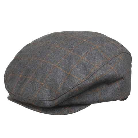Jeeves Ivy Newsboy Cap With Fleece Lined Interior - Ultrafino Panama Hat