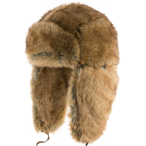 Expedition Ushanka Trapper with Leather Straps - Ultrafino Panama Hat
