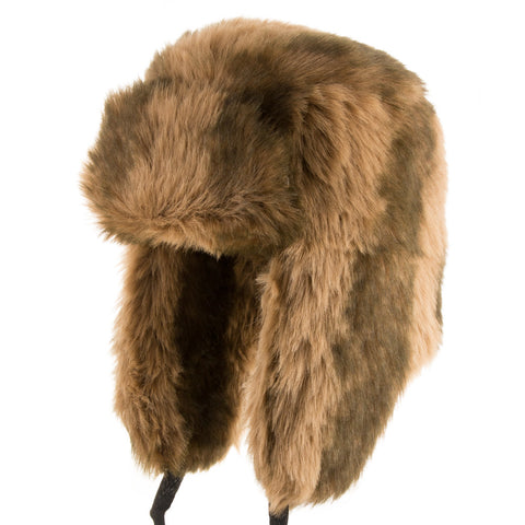 Explorer Ushanka Faux Fur Trapper - Ultrafino