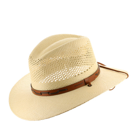 Stetson Outback Vented Straw Hat - Ultrafino Panama Hat