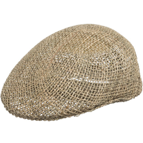 Ascot Golf Vented Straw Cap - Ultrafino Panama Hat