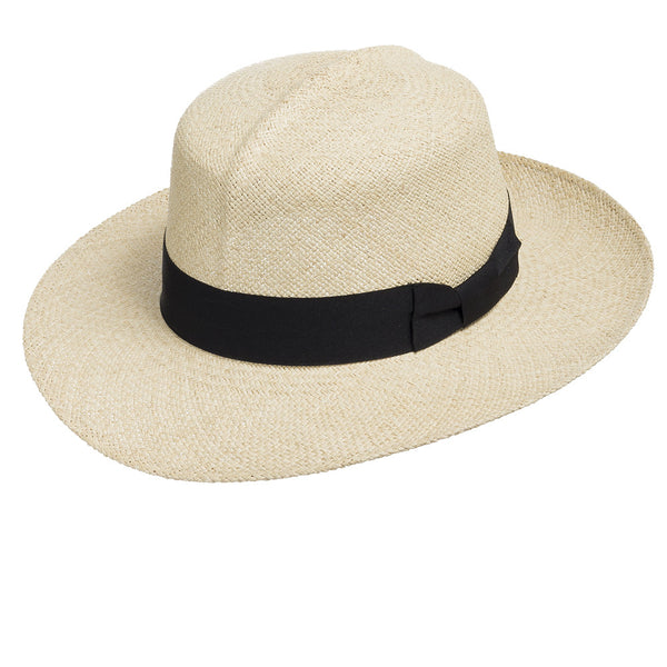 Travel Roll-up Packable Optimo Straw Panama Hat - Ultrafino Panama Hat