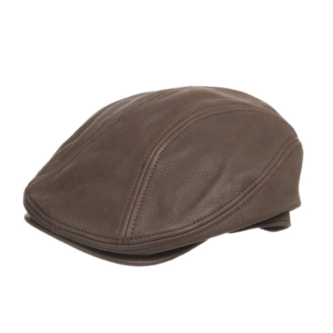 Roadmaster Driving Classic Leather Ivy Cap - Ultrafino