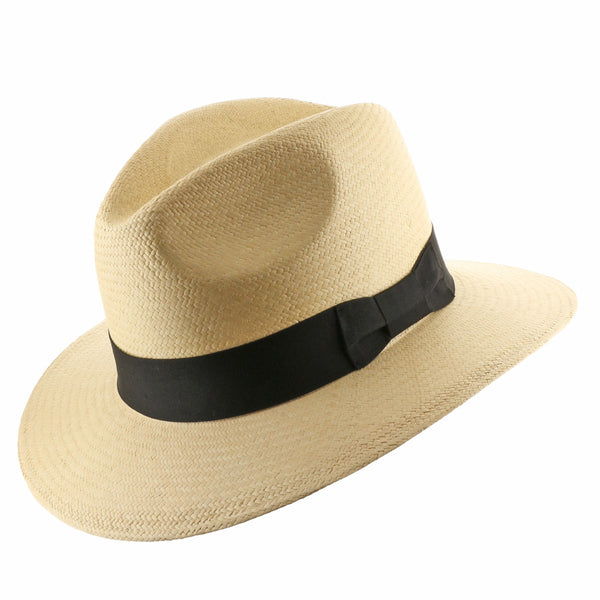 Fedora Safari Straw Panama Hat - Ultrafino Panama Hat