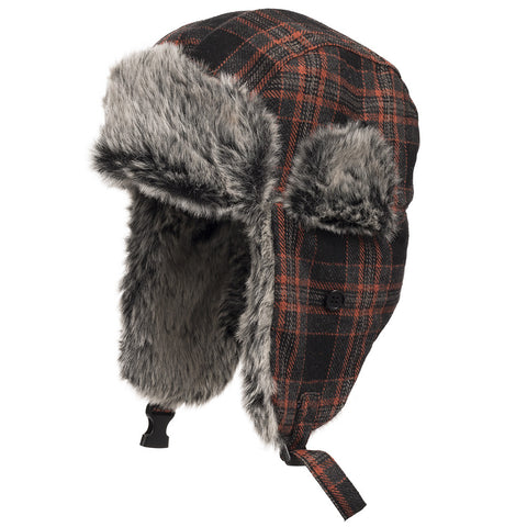 Manhattan Ushanka Soft Faux Fur Trooper Hat - Ultrafino Panama Hat