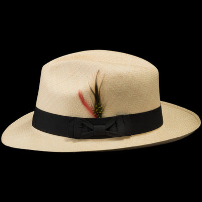 #308 Montecristi Fedora Narrow Tear Drop Crown - Size 7 3/8