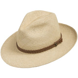 Fedora Packable Classic Straw Panama Hat - Ultrafino Panama Hat