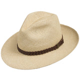 Fedora Packable Classic Straw Panama Hat - Ultrafino