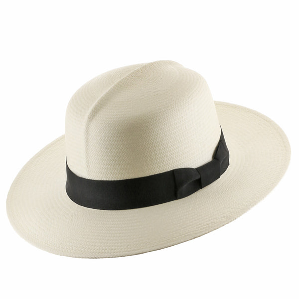 Caribbean Optimo Straw Panama Hat - Ultrafino Panama Hat
