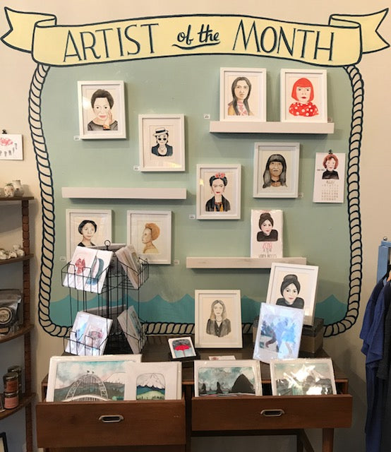 November Artist of the Month: Michele Maule!