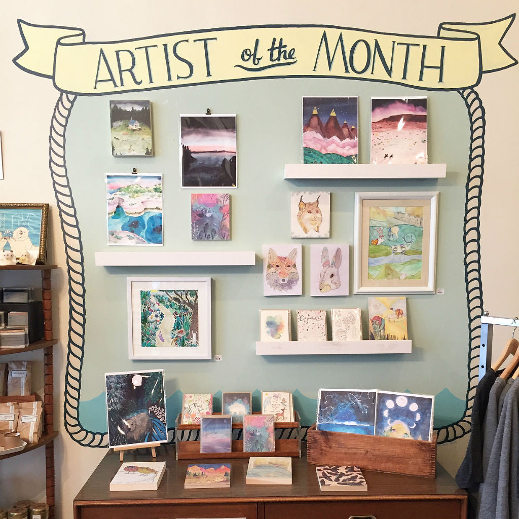 April Artist of the Month: Adrienne Vita