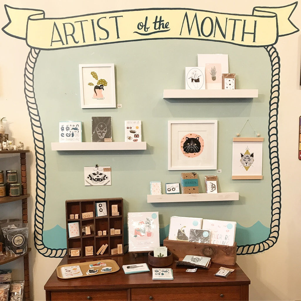 March Artist of the Month: Beetle Ink Co.