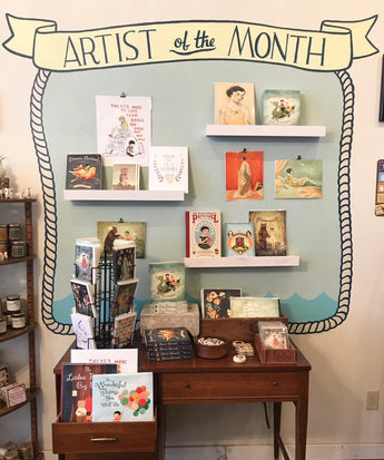February Artist of the Month: Emily Martin of The Black Apple!