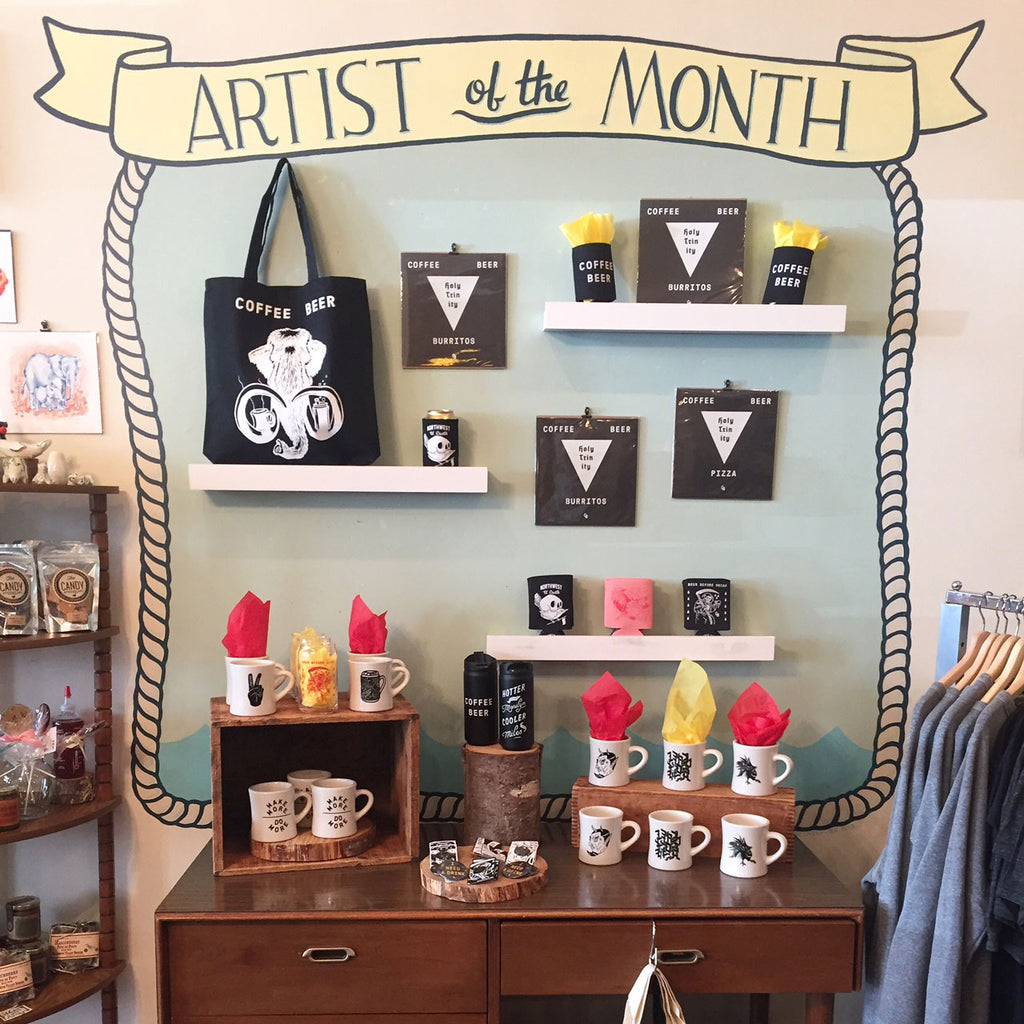 August Artist of the Month: COFFEE BEER