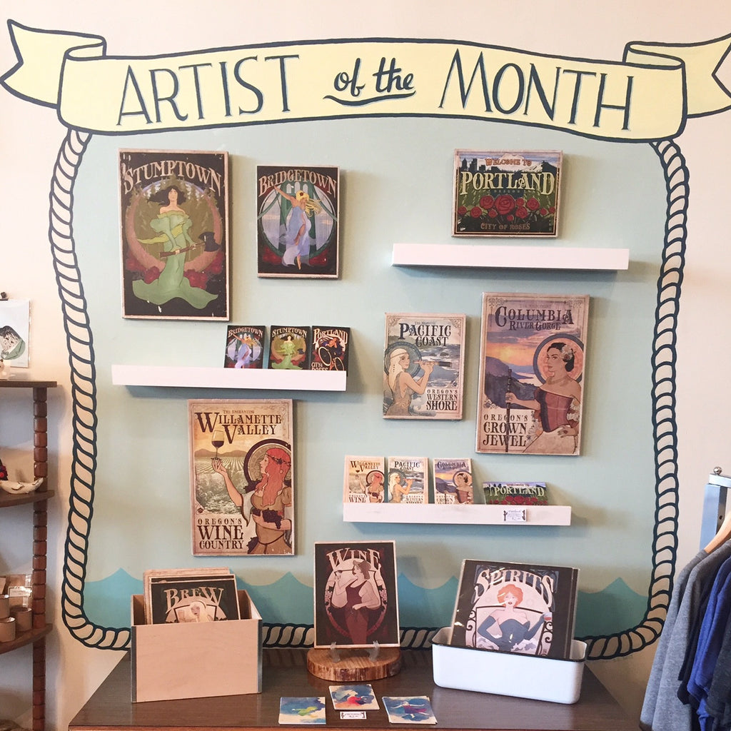 July Artist of the Month: Place & Time