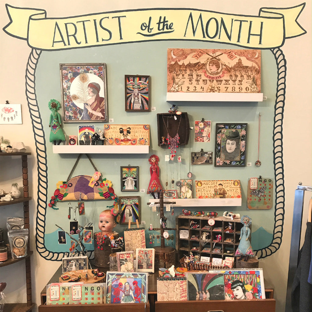 October Artist of the Month: Red Star Art!