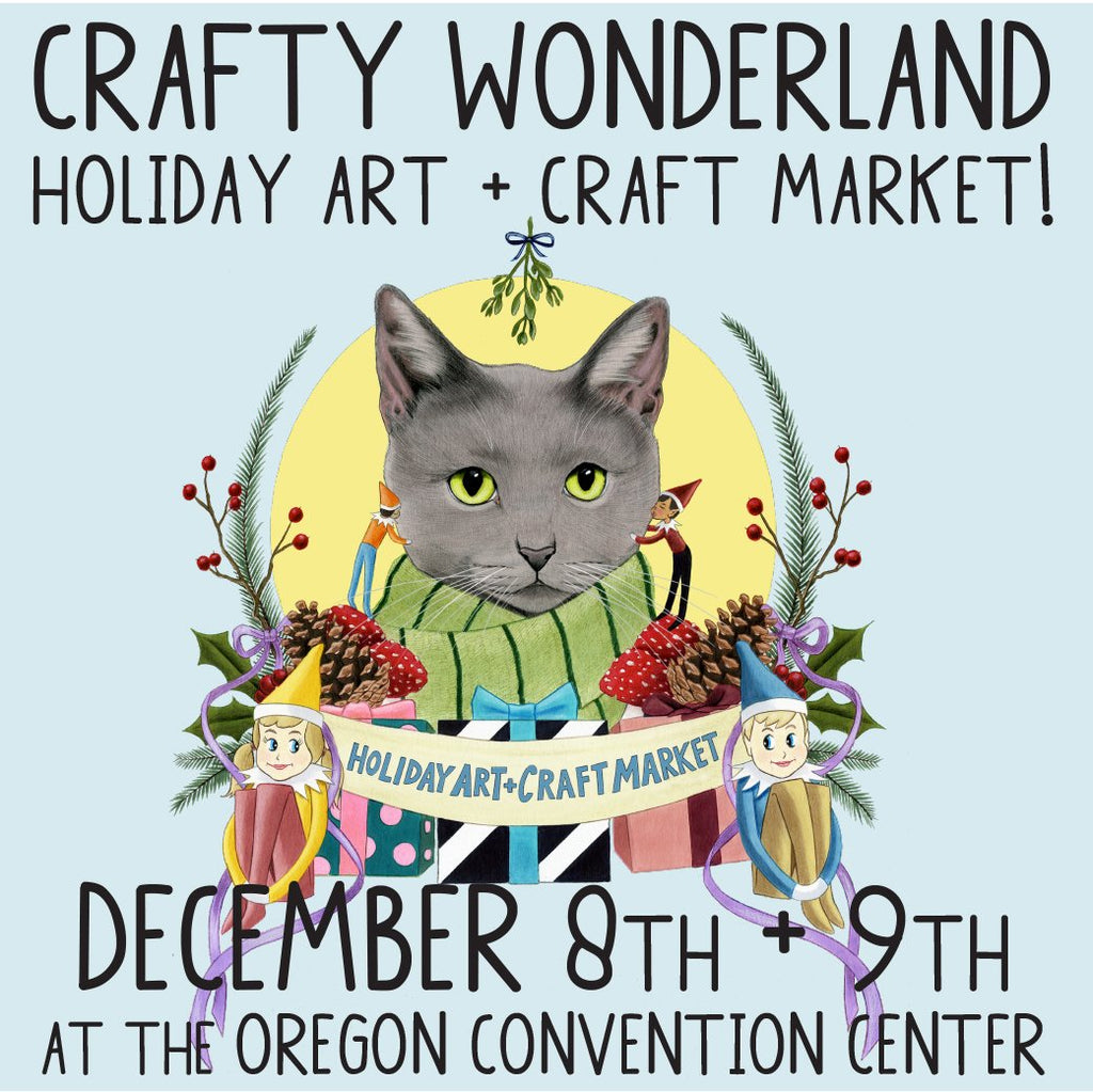 The Holiday Art + Craft Market is less than 2 weeks away!!