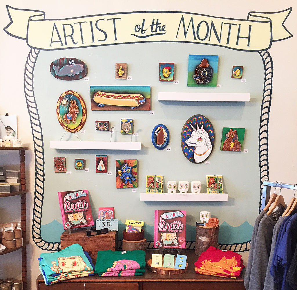 June Artist of the Month: Tripper Dungan