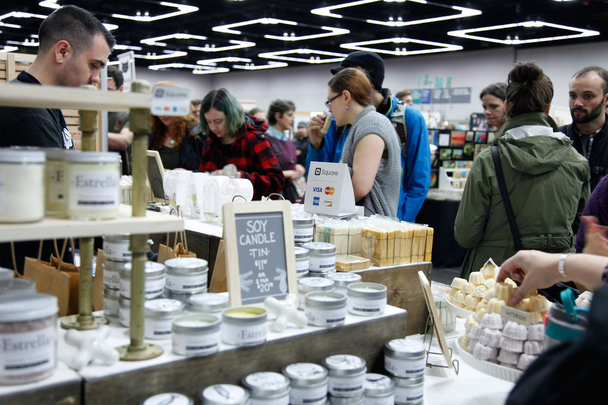 Crafty Wonderland Art + Craft Market soap vendor