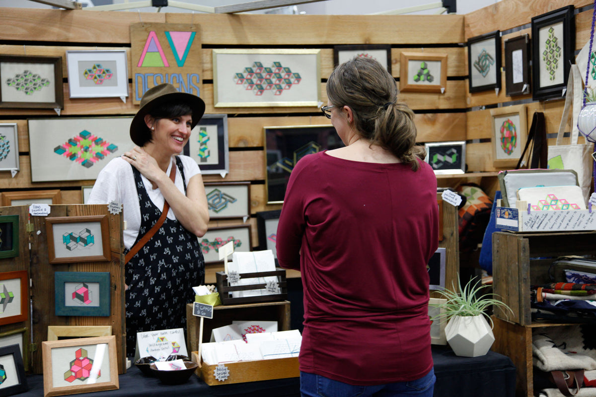 Crafty Wonderland Art + Craft Market vendor