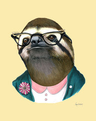 Berkley Illustration lady sloth
