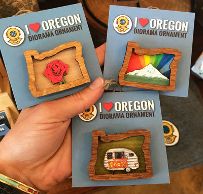 20 leagues Oregon ornaments