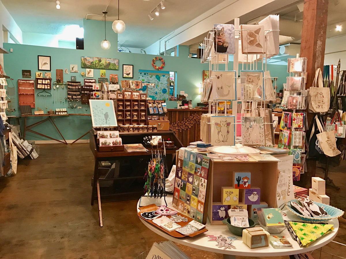 Crafty Wonderland shop view