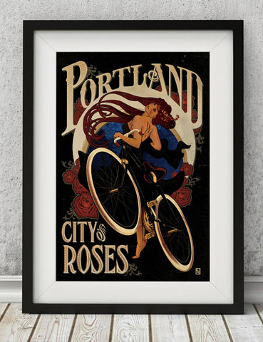 place and time design - city of roses
