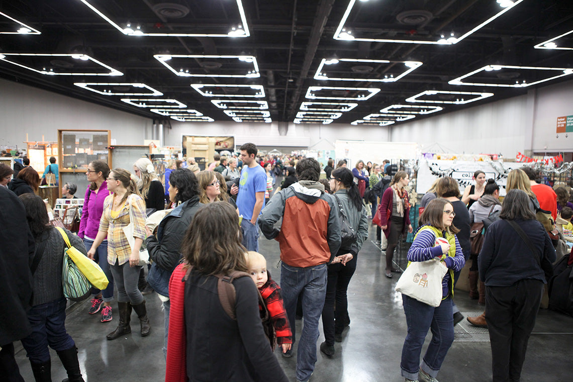 Crafty Wonderland Art + Craft Market Shoppers