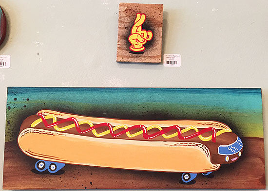 tripper dungan 3D painting hot dog