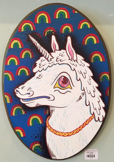 tripper dungan 3D painting unicorn
