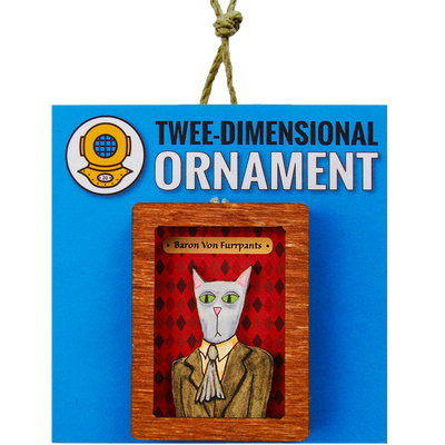 Baron VonFurrPants Magnet or Ornament