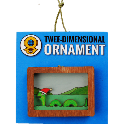 Holiday Sea Serpent Ornament