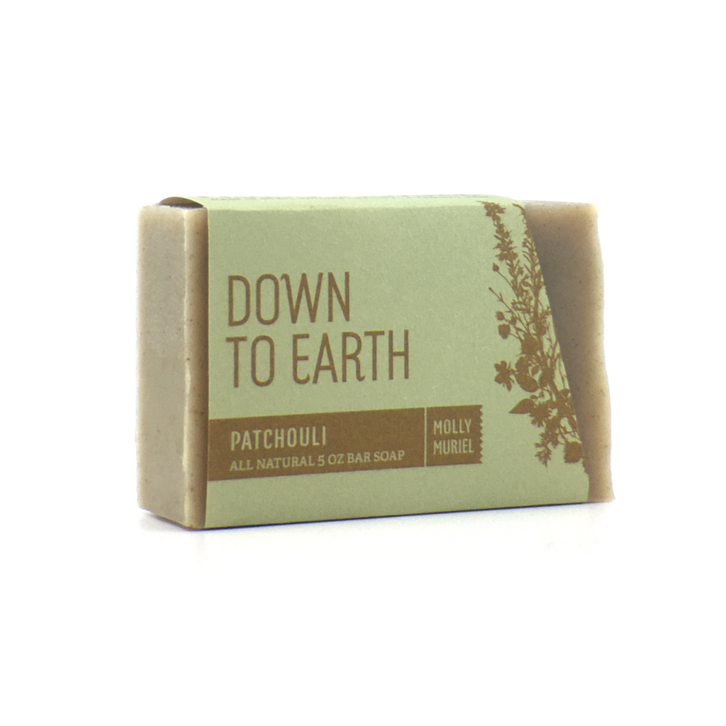 Down to Earth Patchouli Soap