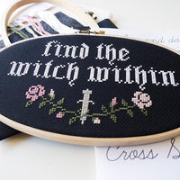 Witch Within Cross Stitch Kit