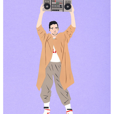 "Lloyd Dobler ""Say Anything"" Print"