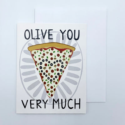Olive You Very Much Card